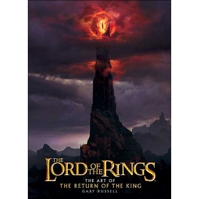 Lord of the rings Houghton Mifflin Harcourt The Lord of the Rings: The Art of The Return of the King [Hardcover]
