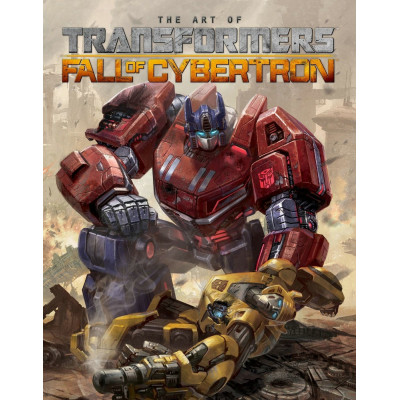 Артбук IDW Publishing Transformers: The Art of Fall of Cybertron [Hardcover]