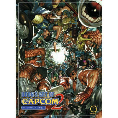 Udon's Art of Capcom 2 [Paperback]