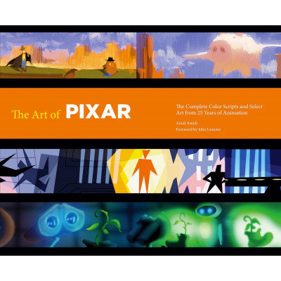 Артбук Chronicle Books The Art of Pixar: 25th Anniv.: The Complete Color Scripts and Select Art from 25 Years of Animation [Hardcover]