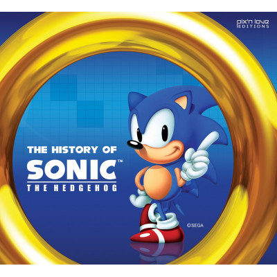 The History of Sonic the Hedgehog [Hardcover,Paperback]