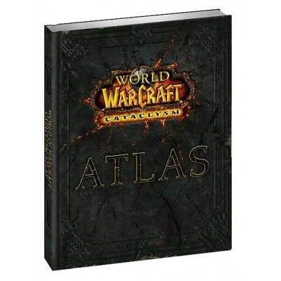 Книга BradyGames World of Warcraft Atlas: Cataclysm [Hardcover]