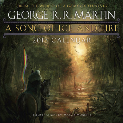 Календарь Sellers Publishing A Song of Ice and Fire 2013 [Настенный]
