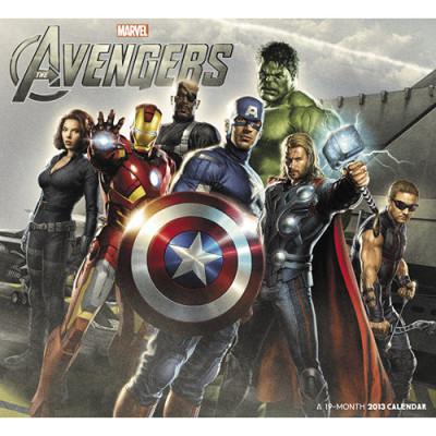 Avengers Sellers Publishing Календарь 2013  [Настенный]