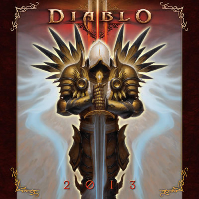 Календарь Sellers Publishing Diablo III 2013 [Настенный]
