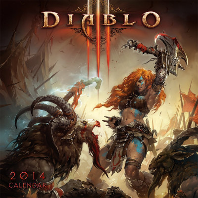 Календарь Sellers Publishing Diablo III 2014 [Настенный]