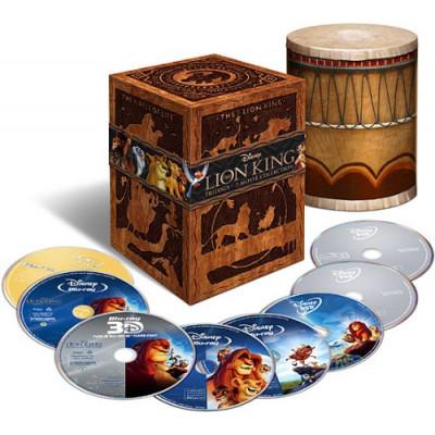 The Lion King Trilogy [ENG, Blu-ray 3D/Blu-ray/DVD/Digital Copy]