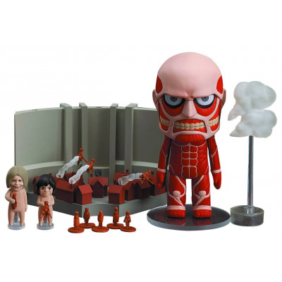 Attack on Titan: Colossal Titan Nendoroid and Playset Action Figure Busts