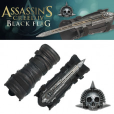 Копия рукавицы со скрытым клинком Assassin's Creed IV Black Flag (Assassin's Creed Black Flag Gauntlet Hidden Blade Replica)