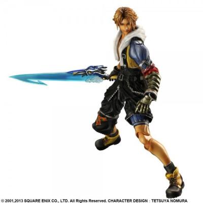 Final Fantasy X HD Remaster Play Arts Kai Tidus