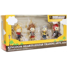 Набор фигурок Kingdom Hearts Avatar Trading Arts Mini Vol.1 (5 см)