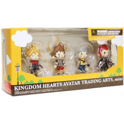 Набор фигурок Kingdom Hearts Avatar Trading Arts Mini Vol.1 (5 см)