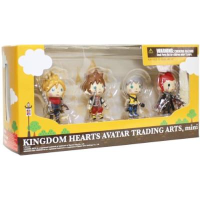 Набор фигурок Square Enix Kingdom Hearts Avatar Trading Arts Mini Vol.1 (5 см)