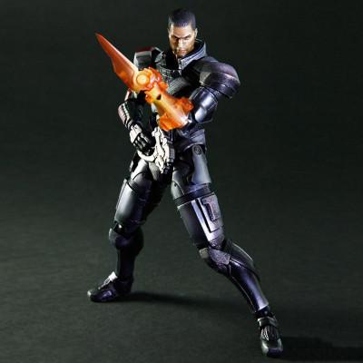Mass Effect 3: Commander Shepard Play Arts Kai
