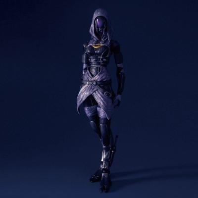 Mass Effect 3: Tali'Zorah vas Normandy Play Arts Kai