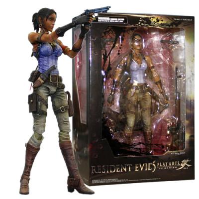 Resident Evil 5 Play Arts Kai Sheva Alomar
