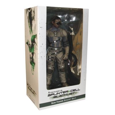 Tom Clancy's Splinter Cell Blacklist Figurine - Sam Fisher: Desert Suit