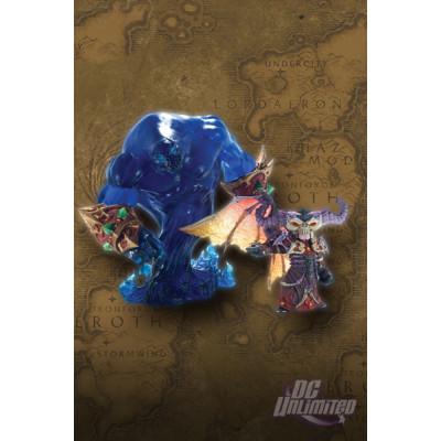 World of Warcraft: Premium series 2: Gnome Warlock Valdremar with Voidwalker Voyd