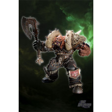 World of Warcraft: Premium Series 3 Orc Warrior: Garrosh Hellscream