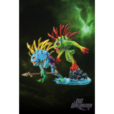 World of Warcraft: Series 4 2-Pack: Murloc Fish-Eye And Gibbergil