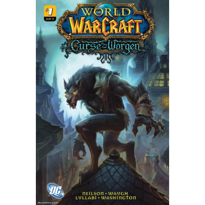 Комикс WildStorm World of Warcraft: Curse of the Worgen [Hardcover]