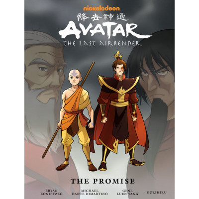 Avatar: The Last Airbender - The Promise Library Edition [Hardcover]