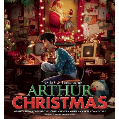 Артбук Newmarket Press The Art & Making of Arthur Christmas: An Inside Look at Behind-the-Scenes Artwork with Filmmaker Commentary [Hardcover]