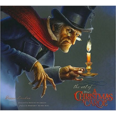 Артбук Disney The Art of A Christmas Carol [Hardcover]