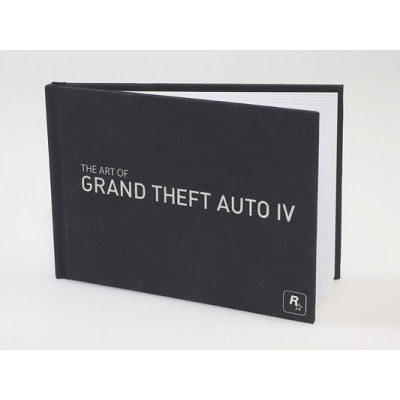Артбук Rockstar Games The Art of Grand Theft Auto IV [Hardcover]