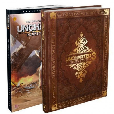 Uncharted 3: Drake's Deception - The Complete Official Guide [Hardcover, Paperback]