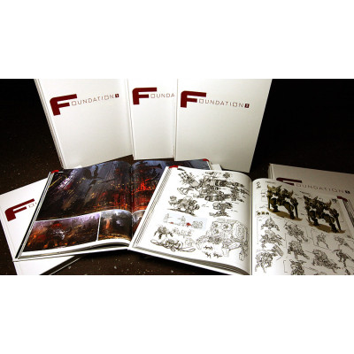 Foundation 1: FZD Art of Book [Hardcover]