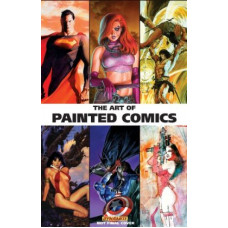 The Art of Painted Comics HC [Hardcover]