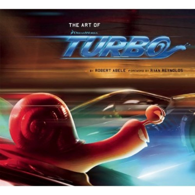 Артбук Insight Editions The Art of Turbo [Hardcover]