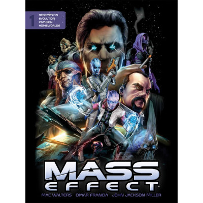 Комикс Dark Horse Mass Effect Library Edition Volume 1 [Hardcover]