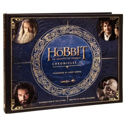 Артбук Harper Design The Hobbit: An Unexpected Journey Chronicles II: Creatures and Characters [Hardcover]
