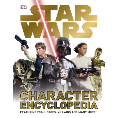 Книга Dorling Kindersley Star Wars Character Encyclopedia [Hardcover]