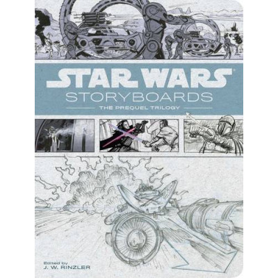 Star Wars Storyboards: The Prequel Trilogy [Hardcover]