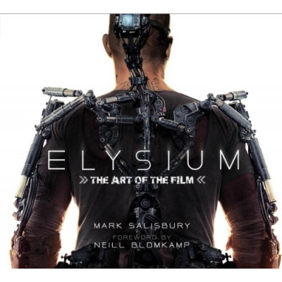 Артбук Titan Books Elysium: The Art of the Film [Hardcover]