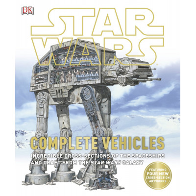 Книга Dorling Kindersley Star Wars: Complete Vehicles [Hardcover]