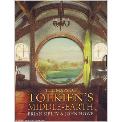 Книга Houghton Mifflin Harcourt The Maps of Tolkien's Middle-earth [Hardcover]
