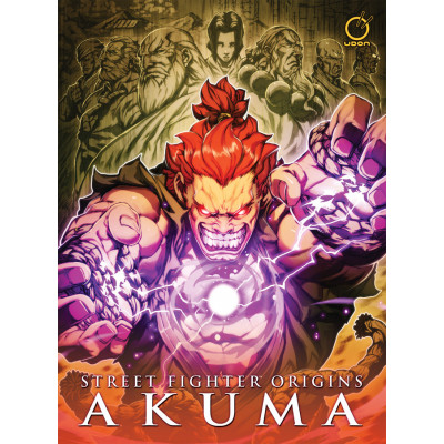 Комикс Udon Street Fighter Origins: Akuma [Hardcover]