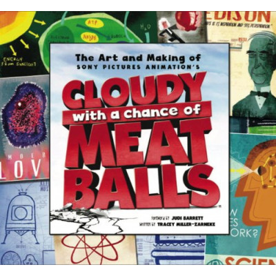 Артбук Titan Books The Art and Making of Cloudy with a Chance of Meatballs [Hardcover]