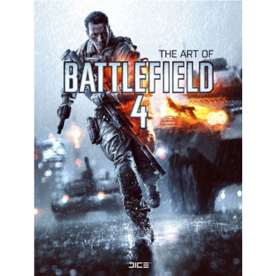 Артбук Titan Books The Art of Battlefield 4 [Hardcover]