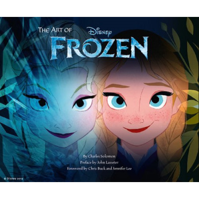 Артбук Chronicle Books The Art of Frozen [Hardcover]