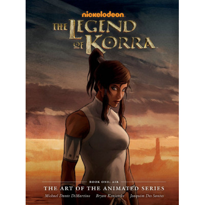 Артбук Dark Horse The Legend of Korra: The Art of the Animated Series Book One: Air [Hardcover]