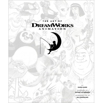 Артбук Abrams Art of DreamWorks Animation: Celebrating 20 Years of Art [Hardcover]