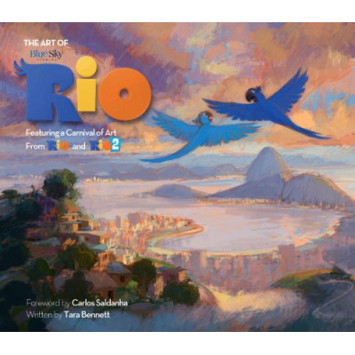 Артбук Titan Books The Art of Rio: Featuring a Carnival of Art From Rio and Rio 2 [Hardcover]