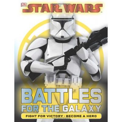 Книга Dorling Kindersley Star Wars: Battles for the Galaxy [Hardcover]