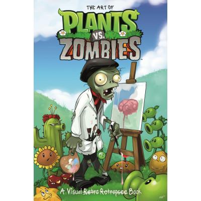 The Art of Plants vs Zombies: A Visual Retro Retrospec Book [Hardcover]