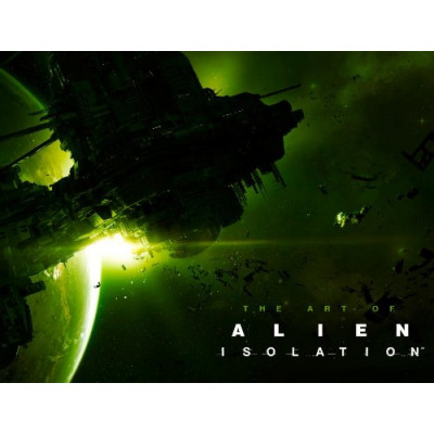 Артбук Titan Books The Art of Alien: Isolation [Hardcover]